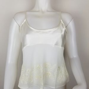 Ivy & Annbelle Intimates S Embroidered Camisole